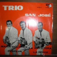 Discos de vinilo: TRIO SAN JOSE. MARIA DOLORES + 3. EP. VERGARA 1962. Lote 42654898