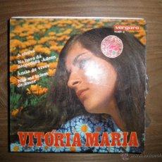 Discos de vinilo: VITORIA MARIA. A CHUVA + 3. EP. VERGARA 1969. Lote 42655030