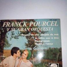 Discos de vinilo: FRANCK POURCEL.POUPEE DE CIRE POUPEE DE SON Y 3+. LA VOZ DE SU AMO EMI 1416 (1965). Lote 42656856