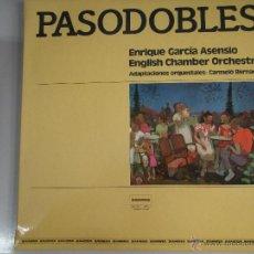Discos de vinilo: MAGNIFICO LP - PASODOBLES - ENRIQUE - GRACIA - ASENSIO --CARMELO - BERNAOLA -. Lote 42659152