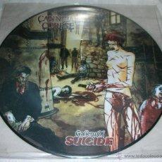 Disques de vinyle: CANNIBAL CORPSE - GALLERY OF SUICIDE - LP EDICION PICTURE DISC. Lote 42660626