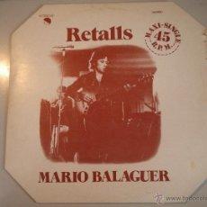 Discos de vinilo: MAGNIFICO - LP - DE - M A R I O - B A L A G U E R - ( - R E T A L L S - ). Lote 42663875
