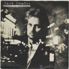 Discos de vinilo: DAVID KNOPFLER, LONELY IS THE NIGHT / LIKE LOVERS DO, EDITOR: MERCURY (ALEMANIA) EN 1991. Lote 42670102