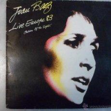Discos de vinilo: JOAN BAEZ. LIVE EUROPE 83. VINILO LP. Lote 42670137