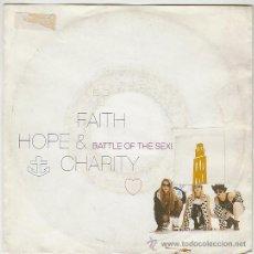Discos de vinilo: FAITH, HOPE & CHARITY - BATTLE OF THE SEXES, WEA 1990. Lote 42670154