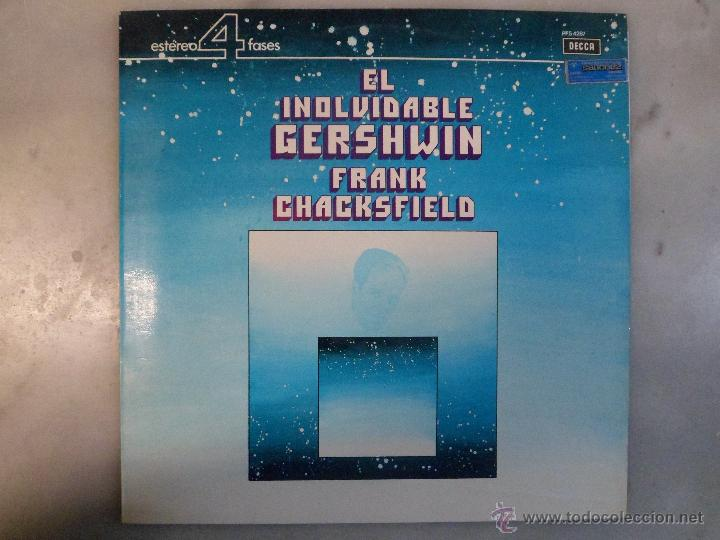 EL INOLVIDABLE GERSHWIN. VINILO LP (Música - Discos - LP Vinilo - Orquestas)
