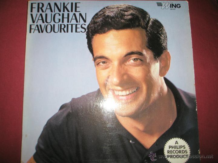 LP-VINILO-GRAN BRETAÑA-FRANKIE VAUGHAN FAVOURITES-1957-WING-WL1077-12 TEMAS-. (Música - Discos de Vinilo - EPs - Cantautores Internacionales)
