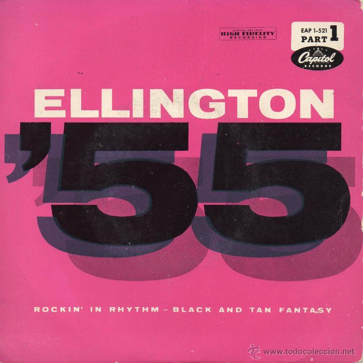 DUKE ELLINGTON AND HIS FAMOUS ORCHESTRA, EP, ROCKIN´ IN RHYTHM + 1, AÑO 1959 (Música - Discos de Vinilo - EPs - Jazz, Jazz-Rock, Blues y R&B)