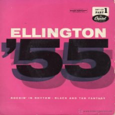 Discos de vinilo: DUKE ELLINGTON AND HIS FAMOUS ORCHESTRA, EP, ROCKIN´ IN RHYTHM + 1, AÑO 1959. Lote 42671792