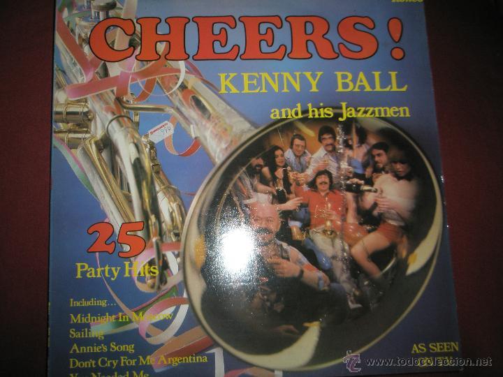 LP-VINILO-CHEERS!KENNY BALL AND HIS JAZZMEN-1979-RONCO-RTL 2039-20 TEMAS-. (Música - Discos - LP Vinilo - Jazz, Jazz-Rock, Blues y R&B)
