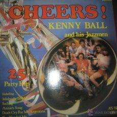 Discos de vinilo: LP-VINILO-CHEERS!KENNY BALL AND HIS JAZZMEN-1979-RONCO-RTL 2039-20 TEMAS-.. Lote 42675403