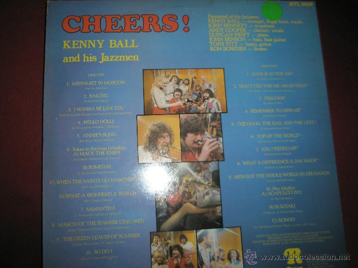 Discos de vinilo: LP-VINILO-CHEERS!KENNY BALL AND HIS JAZZMEN-1979-RONCO-RTL 2039-20 TEMAS-. - Foto 4 - 42675403