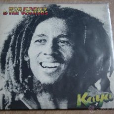 Discos de vinilo: BOB MARLEY & THE WAILERS, KAYA,ISLAND 2 RECORDS,1978, MADE SPAIN, LP. Lote 42679623