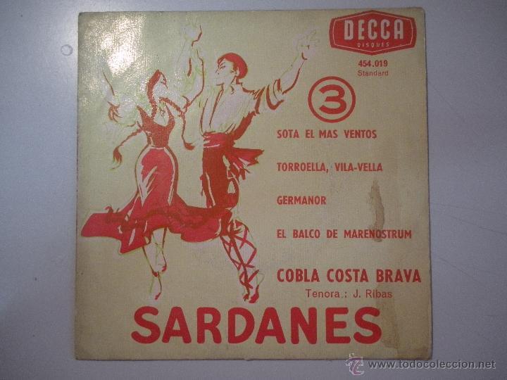 MAGNIFICO SINGLE DE -SARDANES - (Música - Discos - Singles Vinilo - Cantautores Españoles)