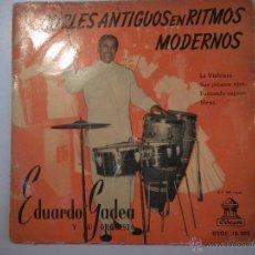 Discos de vinilo: MAGNIFICO SINGLE DE - CUPLES - ANTIGUOS -EN - RITMOS - MODERNOS -. Lote 42680334