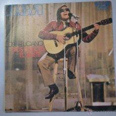 Discos de vinilo: MAGNIFICO SINGLE DE - JOSE - FELICIANO -. Lote 42680574