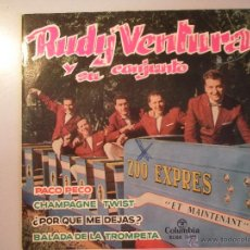 Discos de vinilo: MAGNIFICO SINGLE DE - RUDY - VENTURA - Y - SU - CONJUNTO -. Lote 42680711