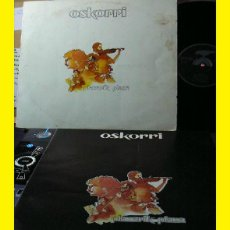 Discos de vinilo: OSKORRI / PLAZARIK PLAZA ( COMPLETA 1ª EDIT 1º PRENSAJE, EDIT XOXOA !! + LIBRETO 12 PAG. ) VINILO EX. Lote 42685768