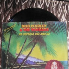 Discos de vinilo: BOB MARLEY AND THE WAILERS - THREE LITTLE BIRDS / ZIMBABWE. Lote 29745875