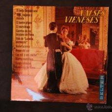 Discos de vinilo: VALSES VIENESES - ORQUESTA VIENESA DE CONCIERTOS - EL BELLO DANUBIO AZUL - BELTER - 1965. Lote 42689231