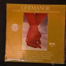 Discos de vinilo: GERMANOR - NOVA GENT - DIRECCIÓ JOAN BARCONS - BELTER - 1976 - CAIXA SAGRADA FAMILIA. Lote 42689617