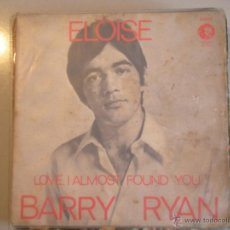 Discos de vinilo: MAGNIFICO SINGLE DE - BARRY - RYAN -. Lote 42693968