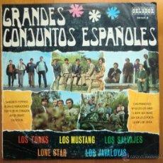 Discos de vinilo: LP GRANDES CONJUNTOS ESPAÑOLES (1968) ORLADOR; CÍRCULO DE LECTORES. LONE STAR, MUSTANG, SALVAJES.... Lote 42694606