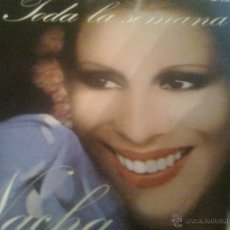 Discos de vinilo: NACHA GUEVARA - TODA LA SEMANA + 1 (HISPAVOX, 1982). Lote 54739501
