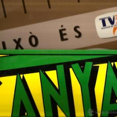Discos de vinilo: 2 RARISIMOS MAXIS DE LA TRINCA: AIXO ES TVE + CANYA FRESCA. Lote 42698109