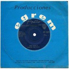 Discos de vinilo: ORQUESTA ENRIQUE JORRIN - COMO SIENTO YO - SN CUBA - AREITO 6555. Lote 42698350