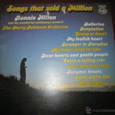 Discos de vinilo: LP-VINILO-RONNIE HILTON-THE HARRY ROBINSON ORCHESTRA-EMI-1975-MFP 50180-12 TEMAS-.. Lote 42698416
