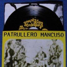 Discos de vinilo: PATRULLERO MANCUSO - VACIO EP - CON ENCARTE. Lote 42700951