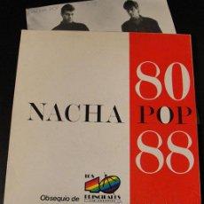 Disques de vinyle: NACHA POP -ANTONIO VEGA - CHICA DE AYER - SINGLE PROMO MUY RARO. Lote 42701065