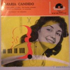 Discos de vinilo: MAGNIFICO SINGLE DE - MARIA - CANDIDO -. Lote 42701712