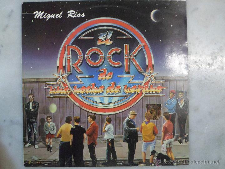 EL ROCK DE UNA NOCHE DE VERANO. MIGUEL RÍOS. VINILO LP (Música - Discos - LP Vinilo - Rock & Roll)