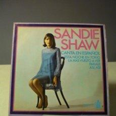 Discos de vinilo: SANDIE SHAW CANTA EN ESPAÑOL ESTA NOCHE EN TOKIO +3 EP. Lote 42705847