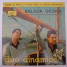 Discos de vinilo: EP. DUO DINAMICO. BABY TWIST/DINAMIC MADISON/BALADA GITANA...LA VOZ DE SU AMO. 1962. Lote 42707745