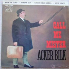 Discos de vinilo: MR. ACKER BILK - MOONLIGHT TANGO +3. Lote 42713677