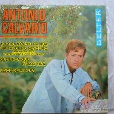 Discos de vinilo: ANTONIO CALVARIO - O FADO NASCEU NA RUA +3 . Lote 42713736