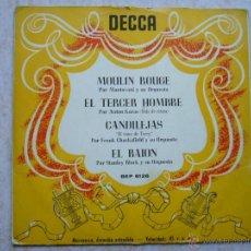 Discos de vinilo: DECCA - MOULIN ROUGE +3 . Lote 42713803
