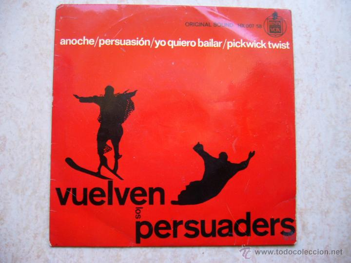 LOS PERSUADERS - VUELVEN LOS PERSUADERS - ANOCHE +3 (Música - Discos de Vinilo - EPs - Rock & Roll)