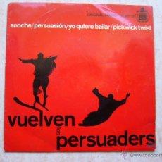Discos de vinilo: LOS PERSUADERS - VUELVEN LOS PERSUADERS - ANOCHE +3. Lote 42714165