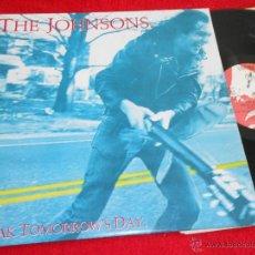 Discos de vinilo: THE JOHNSONS BREAK TOMORROW'S DAY LP 1986 ENIGMA/DRO EDICION ESPAÑOLA SPAIN COMO NUEVO. Lote 42714816