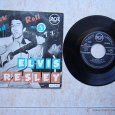 Discos de vinilo: ELVIS PRESLEY ROCK AND ROLL Nº5 RCA 75348 - FRANCE. Lote 42716017