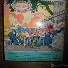 Discos de vinilo: MARINA. CAMPRODON ARRIETA. CORO Y GRAN ORQUESTA SINFONICA. COLUMBIA 1960. Lote 42718327