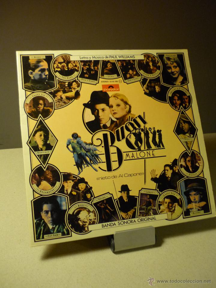 Discos de vinilo: BANDA SONORA DE BUGSY MALONE PAUL WILLIAMS LP - Foto 1 - 42722457