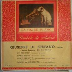 Discos de vinilo: MAGNIFICO SINGLE DE - GIUSEPPE - DI - STEFANO -. Lote 42730037