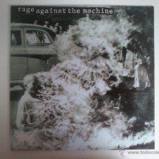 Discos de vinilo: RAGE AGAINST THE MACHINE - M/T - VINILO ROJO. Lote 42730075