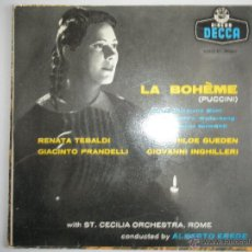 Discos de vinilo: MAGNIFICO SINGLE DE LA BOHEME -. Lote 42730153