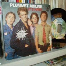 Discos de vinilo: PLUMMET AIRLINE SINGLE IT´S HARD UK PUNK ROCK THE POGUES RELATED PROMO SPAIN. Lote 42730545